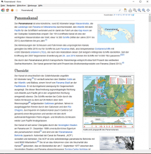 Wikipedia Offline 2017 (mit Kiwix 0.9)