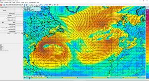 zyGrib - GRIB File Viewer - Grafische Darstellung von Wetterdaten