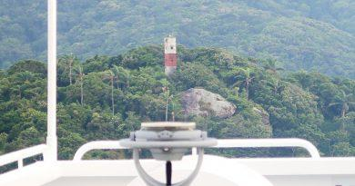 Paranaguá, Brasilien - Revierfahrt